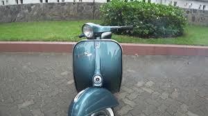 Classic Vespa VBC 150cc In Charcoal Blue