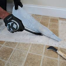 Removing Asbestos Floor Tiles In California by How To Install Wood Look Floor Tile