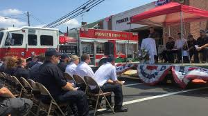 Big Turnout Celebrates Robesonia's New Fire Truck - WFMZ Truck Firefighters Hose Firemen Blaze Fire Burning Building Covers Bed 90 Engine A Firetruck Stock Photos Images Alamy Hose Pipe And Truck Vector Image 1805954 Stockunlimited American Fire With Working V10 Modhubus National Reel Kids Pedal Filearp2 Zis150 Engine Tender Frontleft Viewjpg Los Angeles Department 69 An Attached Flickr Fire Truck Photo Unique Crown Wagon Filenew York City Fighter Pulling Water From