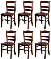 casa padrino landhausstil esszimmer stuhl set braun 46 x 41 x h 91 cm massivholz küchen stühle 6er set esszimmer möbel im landhausstil
