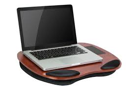 Cushioned Lap Desk With Storage by Tech Desks Lap Desks Media Desks Lapdesk