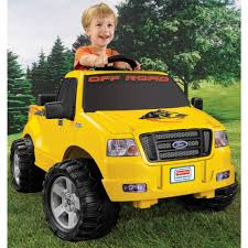 Buy Power Wheels Lil' Ford F-150 6-Volt Battery-Powered Ride-On ...
