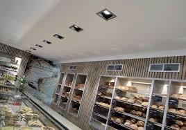 spot encastrable au plafond halogène à led carré batino