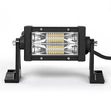 7d 5 inch led work light bar 54w 60 degree spot beam osram for