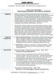 Resume Samples For Mechanical Engineering Students Plus Click Here To Download This Engineer Template