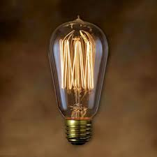 bulbrite nostalgic antique st18 signature 60w light bulb thread