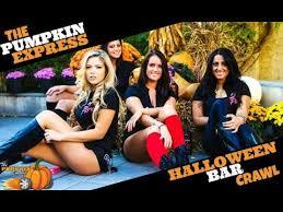 Charlotte Nc Halloween Pub Crawl by The Pumpkin Express Halloween Bar Crawl Youtube