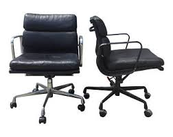 Herman Miller Eames Soft Pad Executive Chair by Eames Chair Mid Century Office Chair Original Eames For