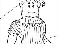 Roblox Denis Coloring Pages Free
