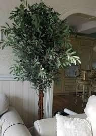 olivenbaum 180cm echtstamm kunstpflanze kunstbaum olivenbaum