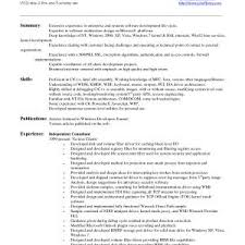 Resume Headline Examples For Software Engineer Free Downloads Sample Format Freshers Engineers Awesome