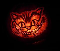 Cheshire Cat Smile Pumpkin Stencil by Cat Pumpkin Peeinn Com
