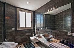 badezimmer im landhaus modern stockbild bild haus