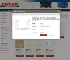 Hyloft 45 X 45 Ceiling Storage Unit by Facebook