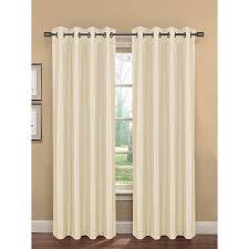 Eclipse Thermaback Curtains Smell by Amazon Com Bella Luna Bliss Faux Silk Room Darkening 76 X 84 In