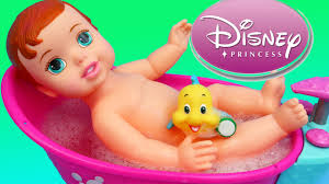 Disney Bath Sets Uk by Disney Princess Little Mermaid Ariel Baby Doll Bath Time Bathtub