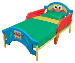 Amazon Delta Children Plastic Toddler Bed Sesame Street