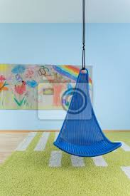 indoor schaukel im kinderzimmer bilder myloview