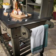 Serving Cart Barn Stain
