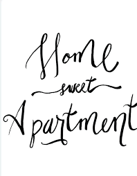 Home Sweet Apartment Cross Stitch