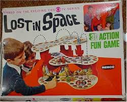 Vintage Board Game Lost In Space