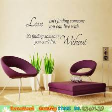 Hot Romantic Love Quotes Wall Art Sticker DIY Home Bedroom Paper Craft Decoration Letters