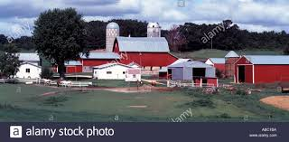 Wisconsin Dairy Farm With Crops Red Barn Silos Outbuildings And ... Holstein Dairy Cattle In A Green Field With Red Barn Stock Campground Home 1201 Best Barns Images On Pinterest Country Haing At The Big Aslrapp I Lived A Dairy Farm When Was Girl And Raised Calves Ihocalendar Ihocalendarcom Showcases Photos From Wisconsin Summer Photo 37409353 Shutterstock Herd Of Cows In Pasture With Large Red Family Farms Maker Puts Local Farmers First Pole Barn Sweet