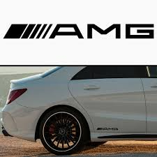 Product: AMG MERCEDES CAR SKIRT BODY VINYL STICKER DECAL