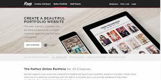 Online Creative Portfolio Resume Builder For All Creatives Krop