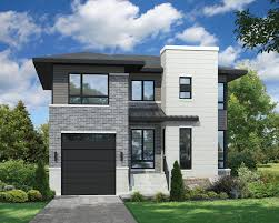 100 Contempory House Plan 80805PM Two Story Contemporary Plan In 2020