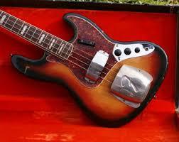 1967 True Road Worn Fender Jazz Bass Original Case Really Great
