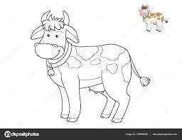 Coloriage Vache Rigolote Gratuit Meilleure Page Colorier Livre