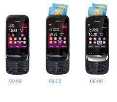 Nokia announces 3 new S40 devices C2 02 Single SIM C2 03 and C2 06 Dual SIM