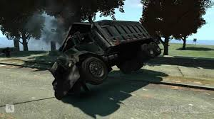100 Gay Trucks Biff Dump Truck Flipping Over Grand Theft Auto IV The Ballad Of