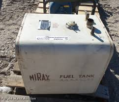 100 Mirax Fuel Tank Item EM9254 SOLD March 22 Construction
