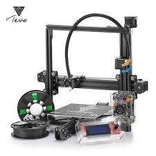 100 Tarantula Trucks TEVO I3 DIY 3D Printer Kit Black Micro SD Card And 2 Roll