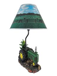 John Deere Bedroom Images by Green Farm Tractor 19 Inch Table Lamp Country John Deere