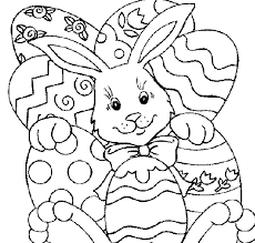 Coloring Pages Easter Printable 13 Free Bunny And Eggs