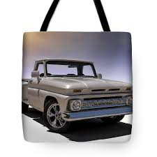 100 66 Chevy Truck Pickup Tote Bag For Sale By Douglas Pittman