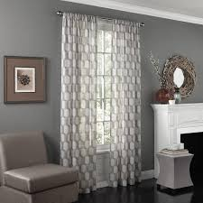 Striped Sheer Curtain Panels by Eclipse Candice Uv Light Filtering Window Sheer Curtain Panel