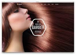 Barber Shop Hair Design Ideas by 15 Hair Salon And Barber Shop Wordpress Themes 2017 Colorlib