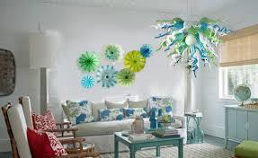 Viz Art Glass Chandelier Wall Plate Combo