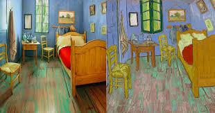 Plain Decoration Van Gogh The Bedroom Painting Bedroom In Arles