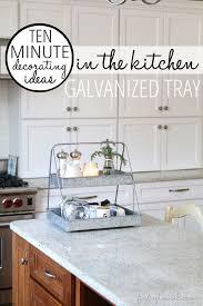 10 Minute Decorating Ideas In The Kitchen Island DecorKitchen TrayKitchen