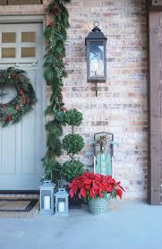 Slim White Flocked Christmas Tree by Christmas 2015 Recap Zdesign At Home