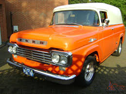 100 59 Ford Truck 1958 F100 Panel 19 For Sale S