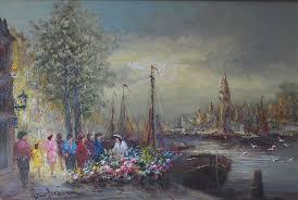 100 Brouwer Amsterdam Dutch Artist Peter Art Gallery Kompaen Lisse Holland