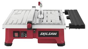 Rigid 7 Tile Saw Blade by Skil 3550 02 7 Inch Wet Tile Saw With Hydrolock Water Containment
