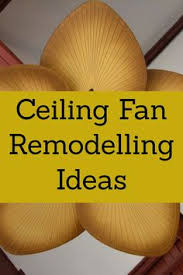 brilliant i love a palm ceiling fan blade what an easy way to