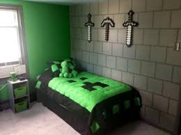 Decorating A Minecraft Themed Kids Room
